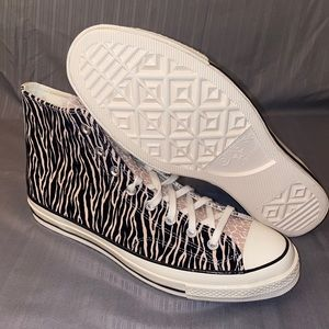 Converse Chuck 70 High Top Animal Zebra Leopard